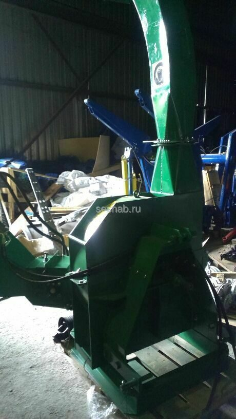 Рубильная машина ЕМ 160 для трактора МТЗ - YouTube