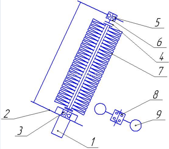 Схема ЩД-01 гидропривод